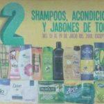Julio Regalado 2018: 3×2 en shampoos, acondicionadores y jabones
