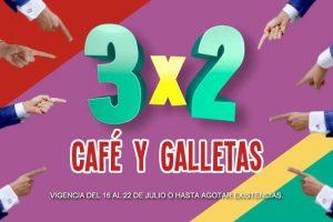 Julio Regalado 2018 Soriana en Soriana: 3×2 en café y galletas