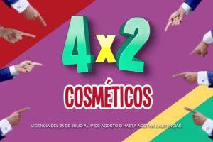 Julio Regalado 2018 Soriana y Mega Soriana: 4×2 en cosméticos