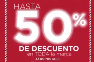 Liverpool y Fábricas de Francia: 50% de descuento en Aeropostale Gran Barata 2018