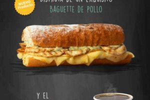 Starbucks: Café del día GRATIS en la compra de un baguette de pollo