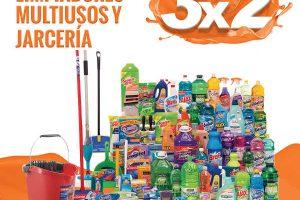 Temporada Naranja 2018: 3×2 en limpiadores multiusos y jarciería