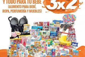 Temporada Naranja 2018 La Comer: 3×2 en pañales y todo para bebés