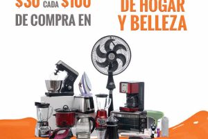 Temporada Naranja La comer: $30 de descuento por cada $100 en electrodomésticos