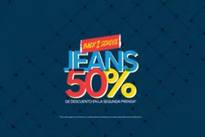 C&A: 50% de descuento en segundo Jeans Regreso a Clases 2018