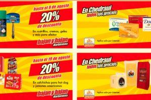 Chedraui: Folleto de ofertas y promociones del 6 al 19 de agosto 2018