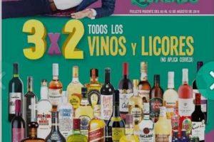 Julio Regalado Catalogo de Ofertas 3x2 en vinos y licores del 3 al 12 de agosto