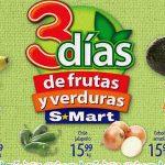 Frutas y Verduras S-Mart del 28 al 30 de agosto 2018