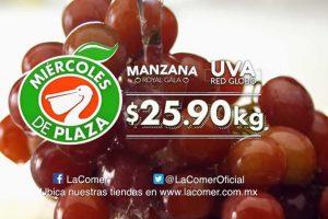 La Comer: Miércoles de Plaza Frutas y Verduras 29 de agosto 2018