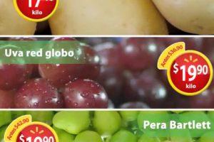 Martes de Frescura Walmart Frutas y Verduras 14 de agosto 2018