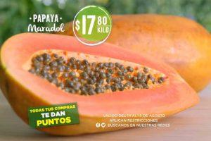 Mega Soriana: Frutas y Verduras 14 y 15 de agosto 2018