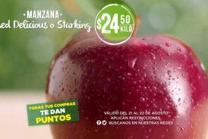 Frutas y Verduras Mega Soriana 21 y 22 de agosto 2018