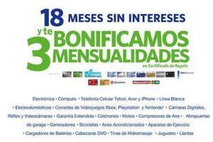 Sams Club: 18 meses sin intereses y 3 bonifiación con BBVA Bancomer