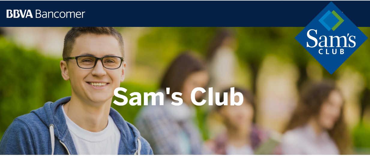 Sam's Club: BBVA Bancomer Puntos Dobles del 01 al 26 de agosto 2018