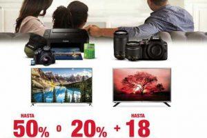 Sanborns: electrónica y fotografía hasta 50% de descuento + 18 msi