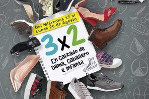 Sears: 3×2 en zapatos para toda la familia regreso a clases 2018