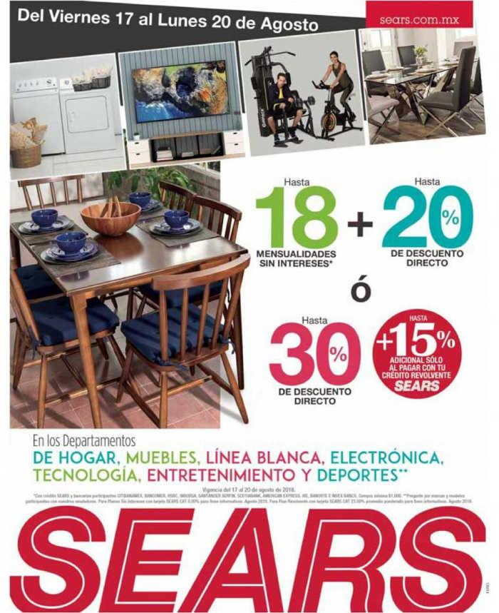 Sears: 30% de descuento en hogar, muebles, línea blanca ... - photo#45