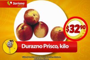 Frutas y Verduras Soriana Mercado del 14 al 16 de agosto 2018