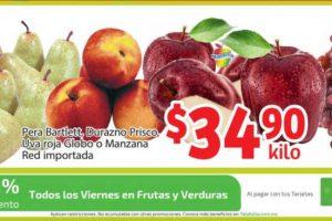 Soriana Mercado: Frutas y Verduras fin semana 17 al 20 de agosto 2018