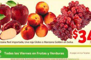 Soriana Mercado: frutas y verduras del 10 al 13 de agosto 2018