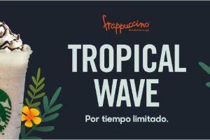 Starbucks: Cupón 50% de descuento en Frappuccino Tropical Wave