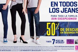 Suburbia: 50% de descuento en la segunda prenda de jeans para toda la familia