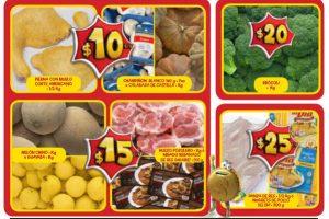 Ofertas Bodega Aurrerá frutas y verduras del 28 de septiembre al 4 de octubre 2018
