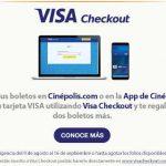 Cinépolis: boletos de cine GRATIS pagando con Visa Checkout