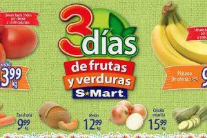 Frutas y Verduras S-Mart del 18 al 20 de septiembre de 2018