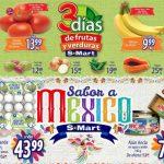 Frutas y Verduras S-Mart del 4 al 6 de Septiembre de 2018