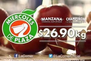 Miércoles de Plaza La Comer Frutas y Verduras 12 de septiembre 2018