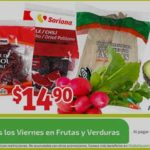 Soriana Mercado: Frutas y Verduras del 14 al 17 de Septiembre 2018