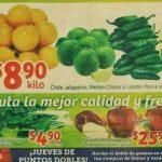 Soriana Mercado: frutas y verduras del 18 al 20 de septiembre 2018