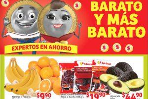 Frutas y Verduras Soriana Mercado 28 de Septiembre al 1 de Octubre 2018