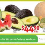 Soriana Mercado: frutas y verduras del 7 al 10 de septiembre 2018.
