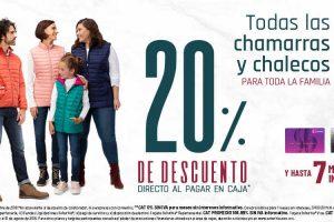 Suburbia: 20% de descuento en chamarras y chalecos para toda la familia