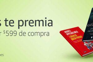 Amazon: $150 de saldo promocional en la compra de $599 en libros físicos