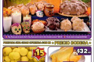 Bodega Aurrerá: frutas y verduras 26 de octubre al 2 de noviembre 2018