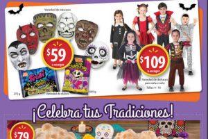 Folleto Walmart Halloween Día de Muertos 18 de octubre al 4 de noviembre 2018