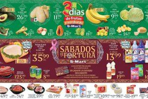 Frutas y Verduras S-Mart del 23 al 25 de octubre 2018