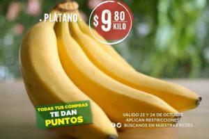 Frutas y Verduras Mega Soriana 23 y 24 de Octubre 2018
