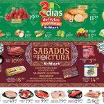 Frutas y Verduras S-Mart del 9 al 11 de octubre 2018