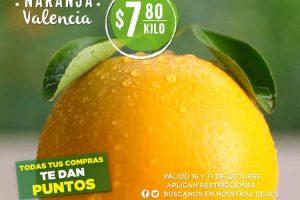 Frutas y Verduras Soriana 16 y 17 de octubre 2018