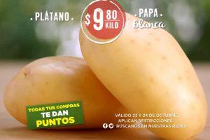 Frutas y Verduras Soriana 23 y 24 de octubre 2018