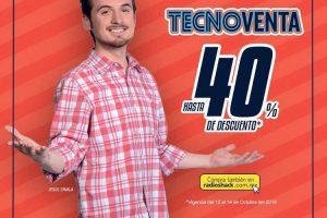 Radioshack Tecnoventa del 12 al 14 de octubre 2018
