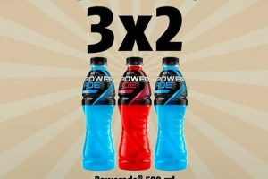 Oxxo: 3x2 en Powerade de 500ml y 12 pack + 4 latones por $175