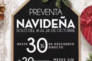 Preventa Navideña Home Store del 18 al 28 de octubre 2018