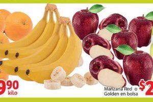 Ofertas Soriana Mercado frutas y verduras 12 al 15 de octubre 2018