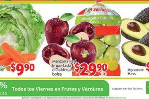 Frutas y Verduras Soriana Mercado del 5 al 8 de octubre 2018