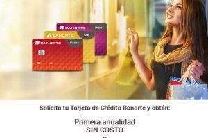 Tarjeta de Crédito Banorte: Anualidad SIN COSTO y $1,000 en Monedero Liverpool